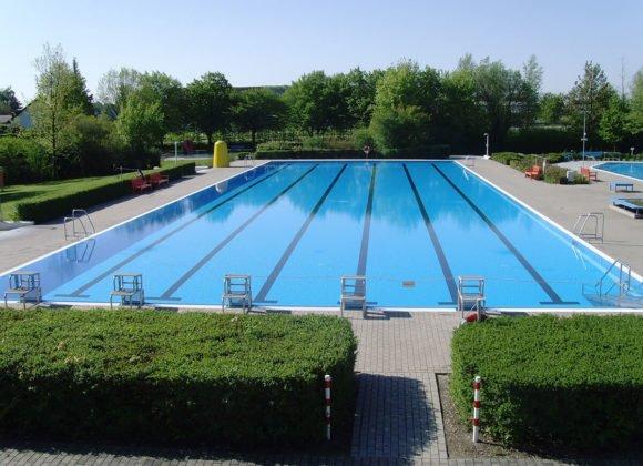 Pool zum Streckenschwimmen