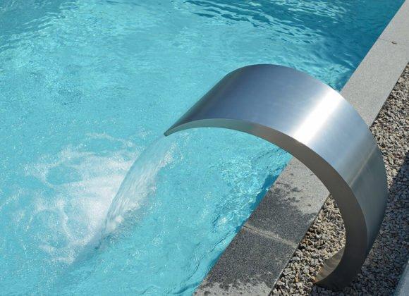 PVC Pool Wasserzufuhr
